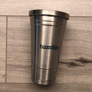 Brand New - Rare Tumblr Tumbler - Stainless Steel